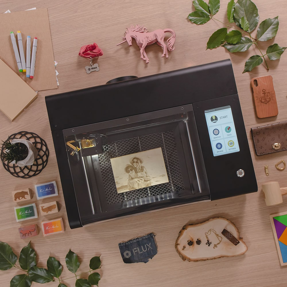 The Most Precise Compact CO2 Laser Engraver