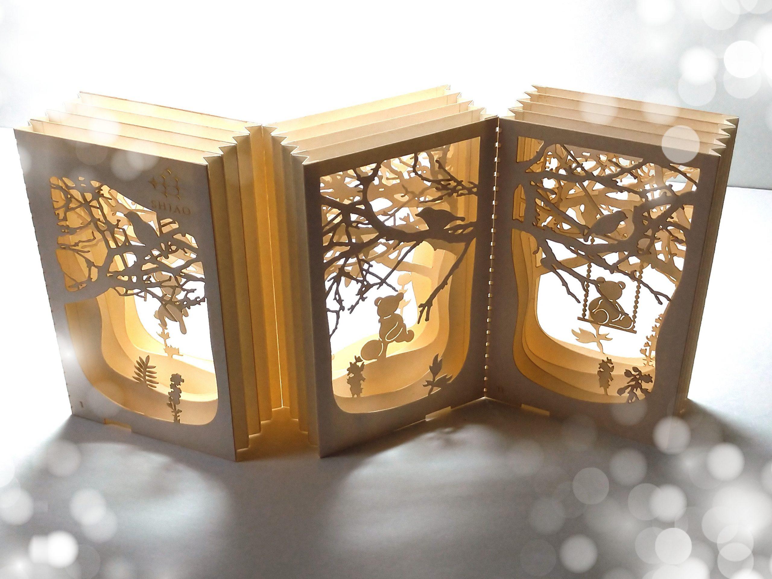 [FLUX] Leaf Paper Art Studio paper laser cutting